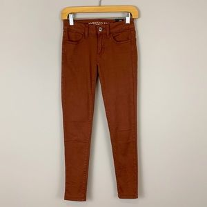 NWT American Eagle Twill Low Rise Jegging Pant